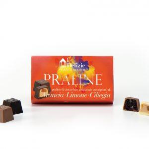 arancia cioccolatini cioccolato praline limone ciliegia