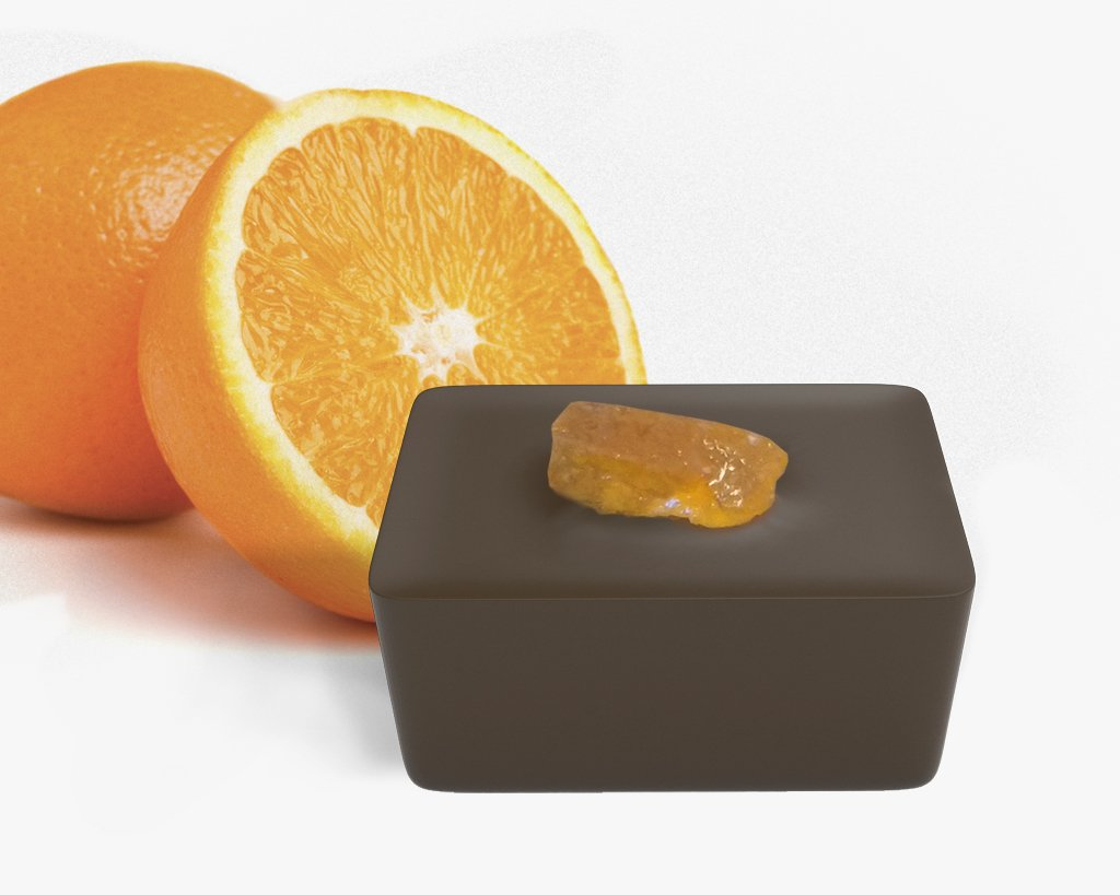Arancia candita latte cioccolato pralina