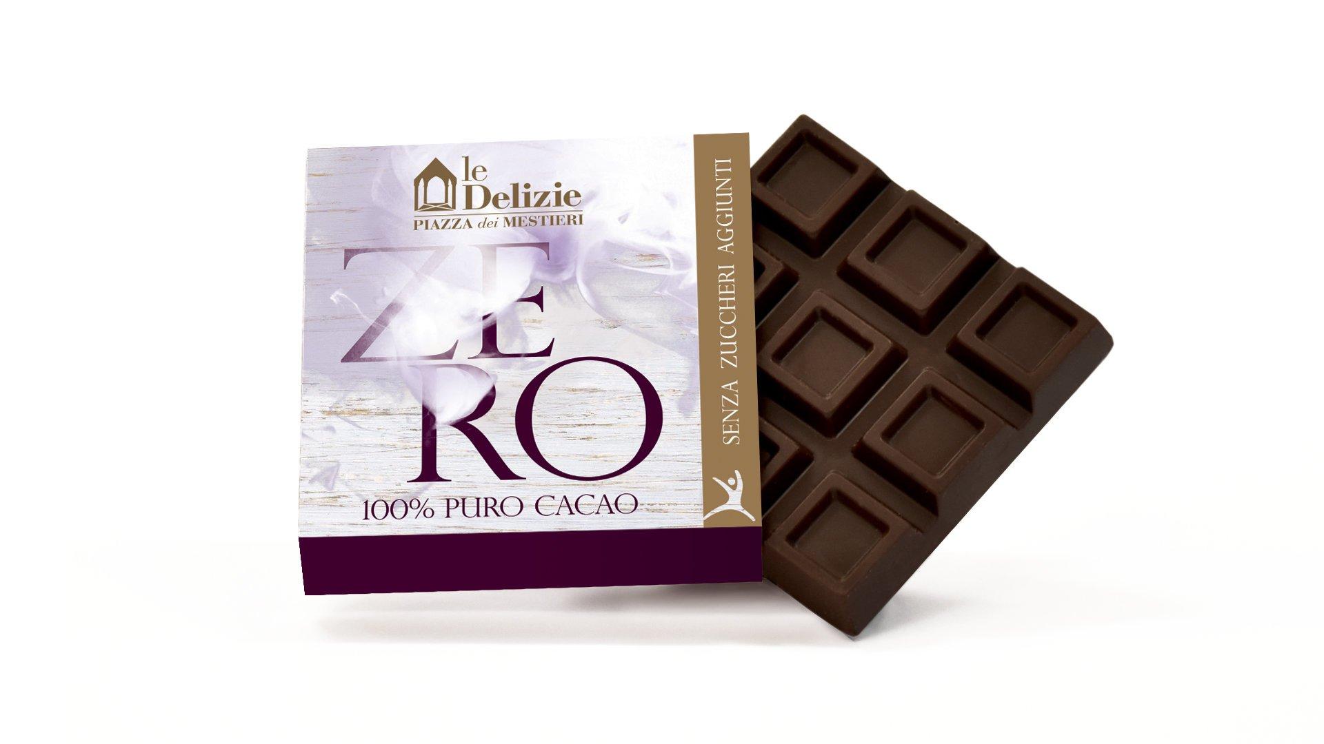 cioccolato cioccolatino linea zero tavoletta