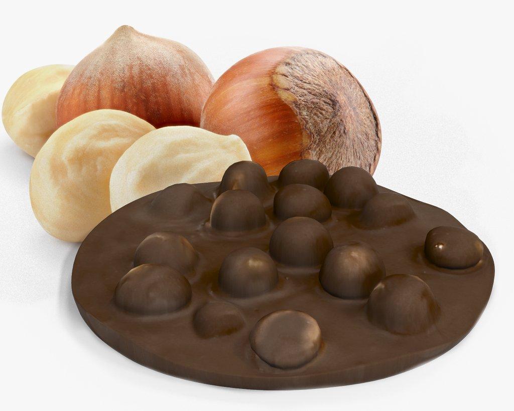cioccolato tortina nocciola latte