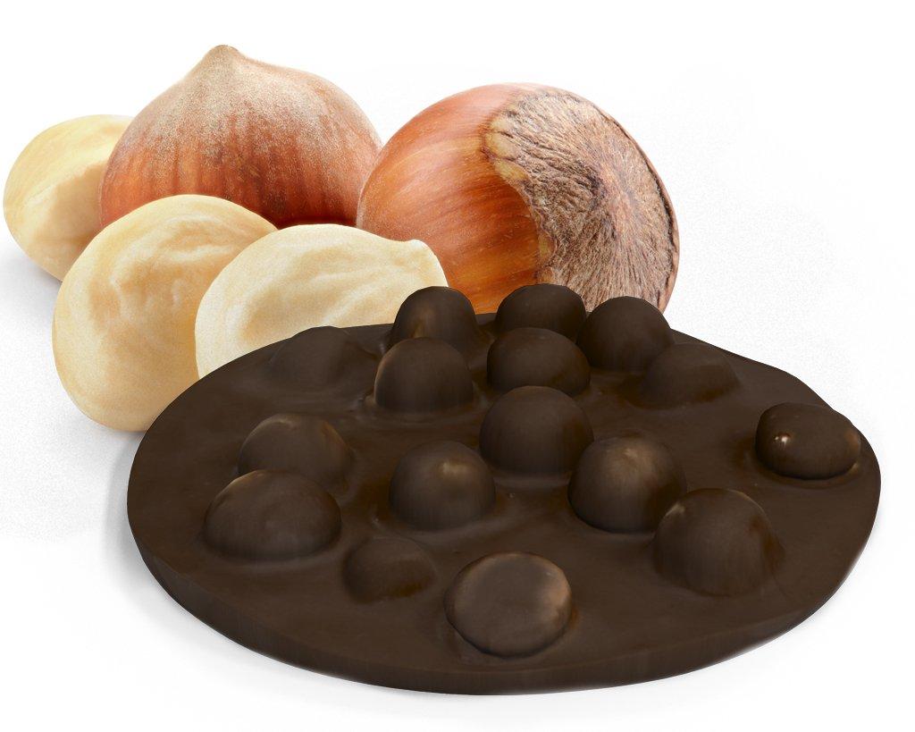 cioccolato nocciole fondente